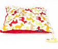 Poduszka sarenki z czerwonym Minky