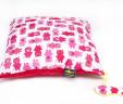Poduszka prosiaczki z czerwonym Minky