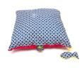 Poduszka koła z czerwonym Minky