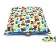 Poduszka szopy z niebieskim Minky