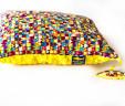 Poduszka serduszka z żółtym Minky