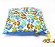 Poduszka małpki z niebieskim Minky