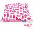 Poduszka prosiaczki z różowym Minky