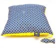 Poduszka koła z żółtym Minky
